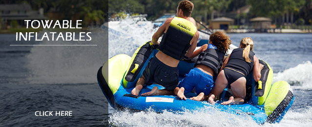 Discount Towable Inflatable Tubes and Ringos, Boat Ski Tubes and Banana Boats, Water Toys and Discount Towable Toys